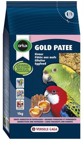 Orlux Gold Patee Eivoer Grote Parkiet/Papegaai - Luxory Pets