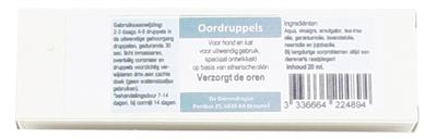 Dierendrogist Oordruppels Hond/Kat 20 ml - Luxory Pets
