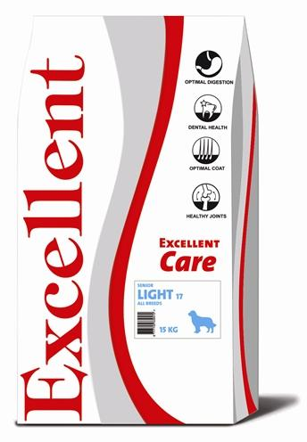 Excellent care senior/light 17 15 kg - Luxory Pets