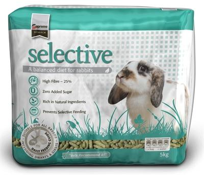Supreme science selective rabbit 5 kg - Luxory Pets