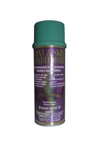 Mr groom coat en skin conditioner en glansspray - Luxory Pets
