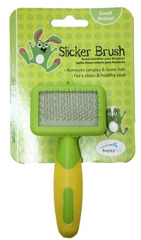 Happy Pet Knaagdier Slicker Brush 12x6x2 cm - Luxory Pets