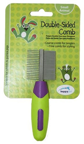 Happy Pet Knaagdier Double Sided Comb 12x4x2 cm - Luxory Pets