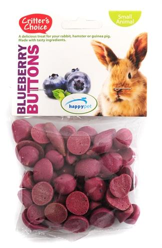 Critter's choice blueberry buttons 40 gr - Luxory Pets