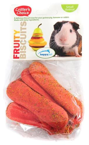 Critter's choice fruity biscuit 50 gr - Luxory Pets