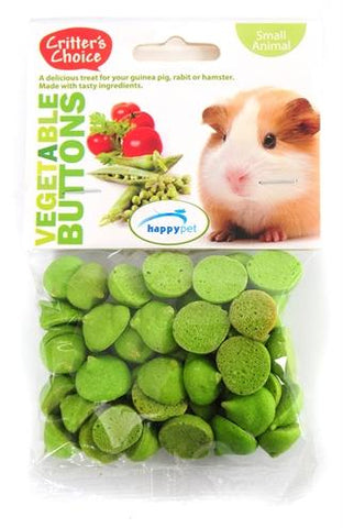 Critter's choice vegetable buttons 40 gr - Luxory Pets