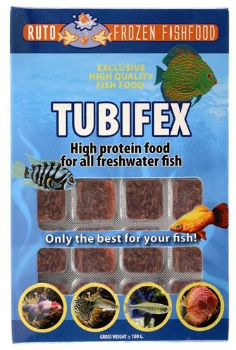 Ruto red label tubifex 100 gr - Luxory Pets