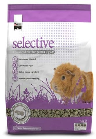 Supreme Science Selective Cavia 1,5 kg - Luxory Pets
