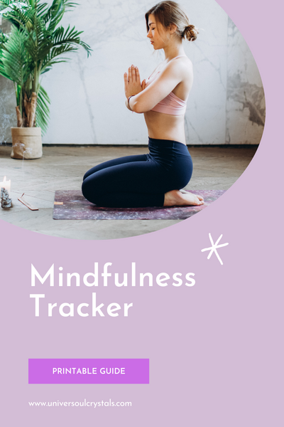 Mindfulness Tracker Printable Guide