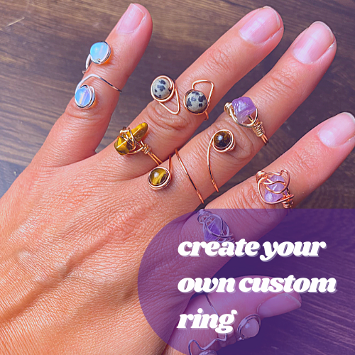 Create Your Own Wire Wrapped Ring