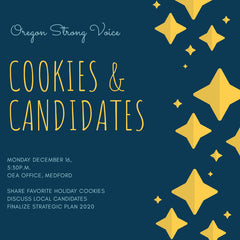 Oregon Strong Voice - Cookies & Candidates