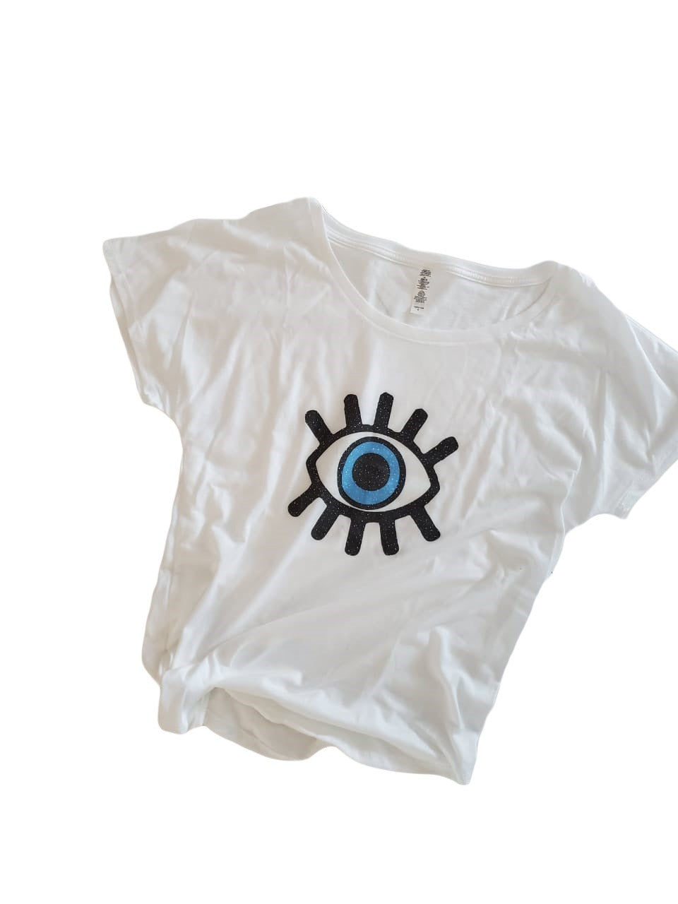 Happy Eye White Tee