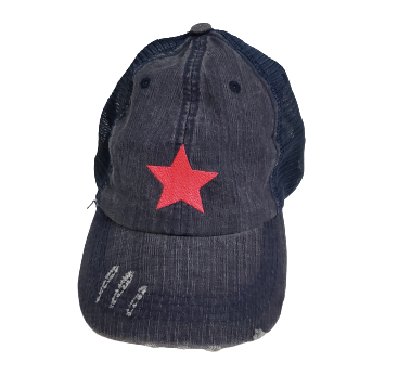 Hot Pink Star Baseball Cap
