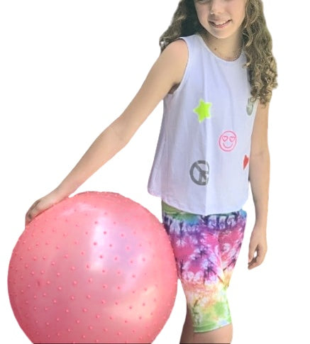 Tye Dye Short and Tank Kid Set
