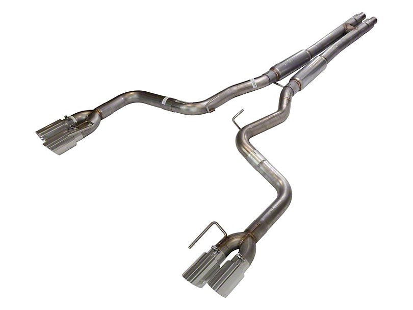 Pypes H-Bomb Cat-Back Exhaust w/ Polished Tips (18-19 GT w/o Active Exhaust)