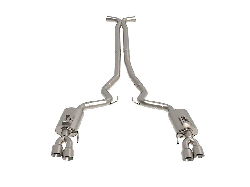 Kooks Cat-Back Exhaust w/ X-Pipe & Polished Tips (18-19 GT)