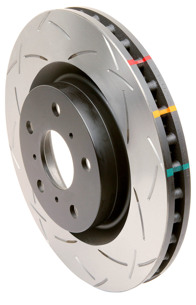 DBA 4000 Series T-Slot Slotted Rotor Pair Front 2004-2020 STi