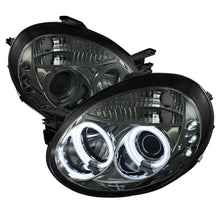 Load image into Gallery viewer, Spyder Auto PRO-YD-DN03-CCFL-SM Dodge Neon Smoke CCFL LED Projector Headlight with Replaceable LEDs