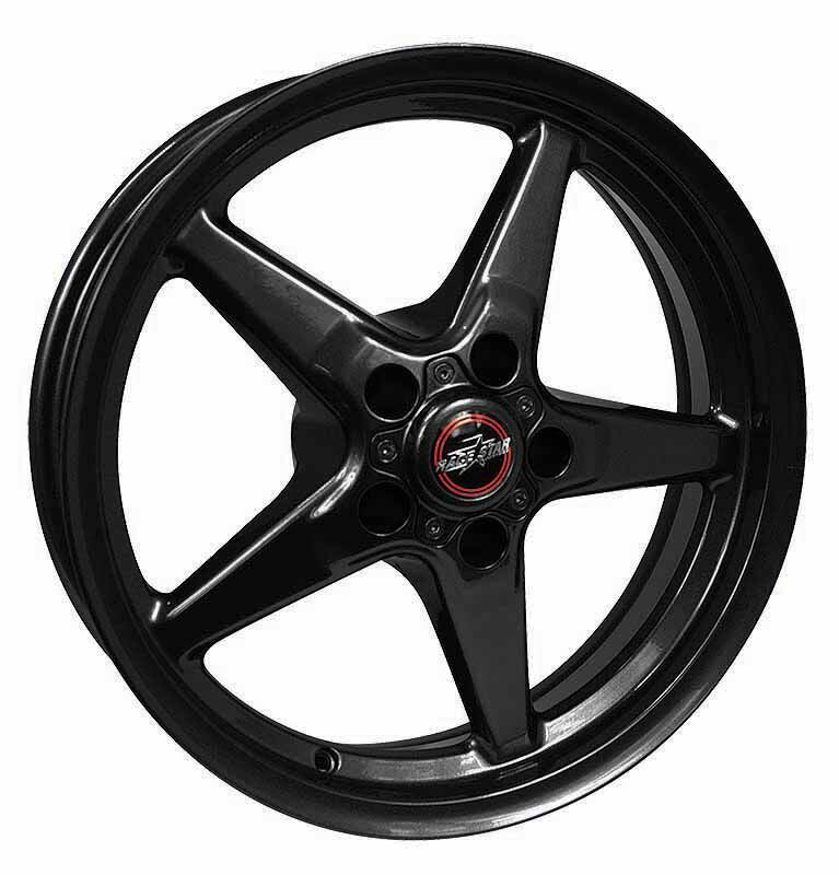 Race Star 17×10.5 92 Drag Star Bracket Racer Ford Gloss Black