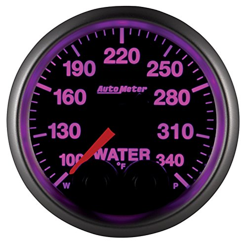 AutoMeter 5655-05702-D NASCAR Elite Water Temperature Gauge