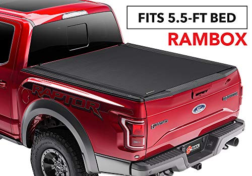 "BAK Revolver X4 Hard Rolling Truck Bed Tonneau Cover | 79227RB | fits 2019 Dodge Ram With Ram Box 5' 7"" bed"