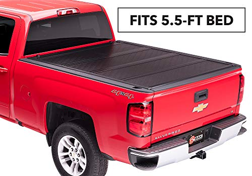 "BAKFlip F1 Hard Folding Truck Bed Tonneau Cover | 772120 | fits 2014-19 GM Silverado, Sierra 5' 8"" bed"