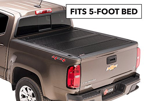 BAKFlip F1 Hard Folding Truck Bed Tonneau Cover | 772332 | fits 2019 Ford Ranger, 5' Bed