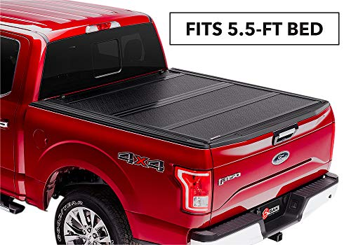 "BAKFlip FiberMax Hard Folding Truck Bed Tonneau Cover | 1126309 | fits 2004-14 Ford F150 5' 6"" bed"