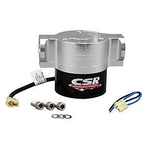 CSR Performance Products (925C) Universal Electric Water Pump, Clear