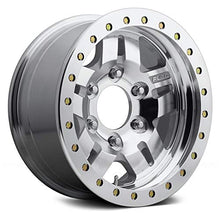 Load image into Gallery viewer, Fuel D116 Сustom Wheel - Beadlock Anza Series Raw Machined 17x9, -14 Offset, 5x127 Bolt Pattern, 78.1mm Hub