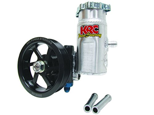 KRC Power Steering KRC 50020100 Cast Iron Pump (with Bolt-On Tank w/6-Rib Pulley)