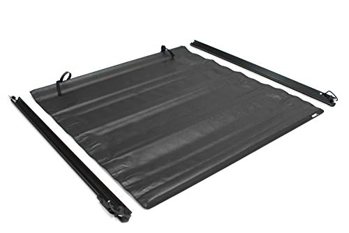 Lund 96094 Genesis Roll Up Truck Bed Tonneau Cover for 2007-2018 Silverado & Sierra 1500, 2500 HD, 3500 HD | Fits 8' Bed