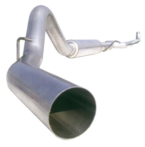 "MBRP S6004AL 4"" Down Pipe Back, Single Side, Off-Road Exhaust System (Aluminized Steel)"