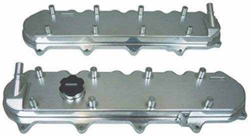 Moroso 68494 Billet Aluminum Valve Covers With Coil Mounts & Oil Fill Fits GM LT