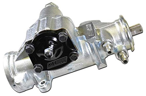 "NEW KSE RACING 700 SERIES FAST RATIO POWER STEERING BOX, 8:1 RATIO GEAR, 3/4""-30 SPLINE INPUT SHAFT, .210 LIGHT VALVE, GREAT FOR IMCA USMTS UMP DIRT MODIFIEDS PURE STREET STOCKS GRAND NATIONALS"