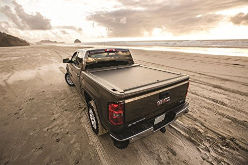 Roll-N-Lock BT530A Locking Retractable A-Series Truck Bed Tonneau Cover for 2016-2018 Toyota Tacoma Double Cab | Fits 5' Bed