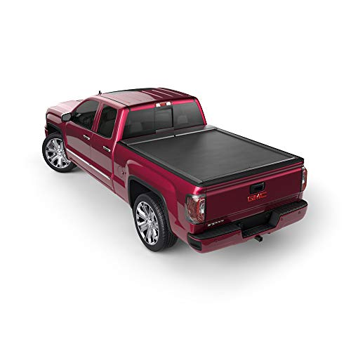 Roll-N-Lock LG152M Tonneau Cover (M-Series Retractable Locking, Black)