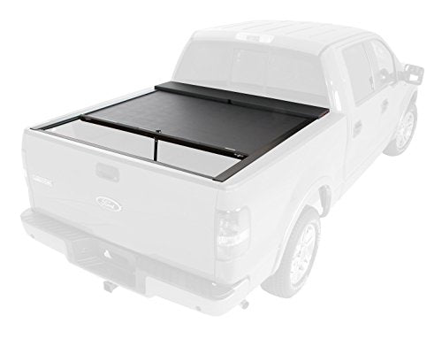 Roll-N-Lock LG170M Locking Retractable M-Series Truck Bed Tonneau Cover for 2004-2008 F-150 SuperCab & SuperCrew; 2006-2008 Lincoln Mark LT | Fits 5.5' Bed