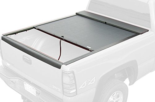Roll-N-Lock LG206M Locking Retractable M-Series Truck Bed Tonneau Cover for 1999-2007 Silverado & Sierra | Fits 6.5' Bed