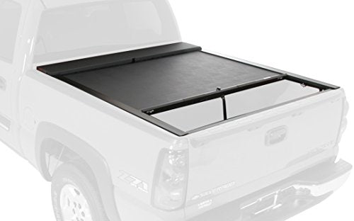 Roll-N-Lock LG208M Locking Retractable M-Series Truck Bed Tonneau Cover for 1999-2007 Silverado & Sierra w/Bedrail Caps; 2002-2007 Denali | Fits 6.5' Bed