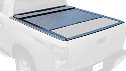 Roll-N-Lock LG570M Locking Retractable M-Series Truck Bed Tonneau Cover for 2007-2018 Toyota Tundra CrewMax | Fits 5.5' Bed
