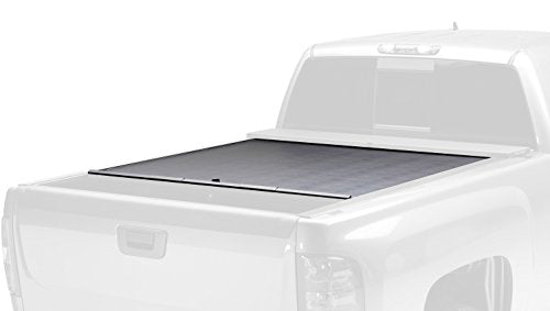 Roll-N-Lock LG825M Locking Retractable M-Series Truck Bed Tonneau Cover for 2004-2015 Nissan Titan King Cab | Fits 5.5' Bed