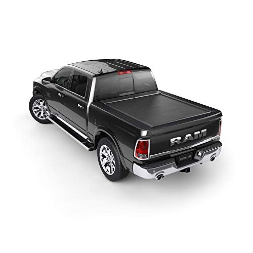 Roll-N-Lock LG881M Tonneau Cover (M-Series Retractable Locking, Black)