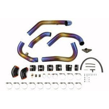 Load image into Gallery viewer, ETS 08-14 Subaru STI Intercooler Piping - Titanium - Spot Anodize - Subaru STI 08-14
