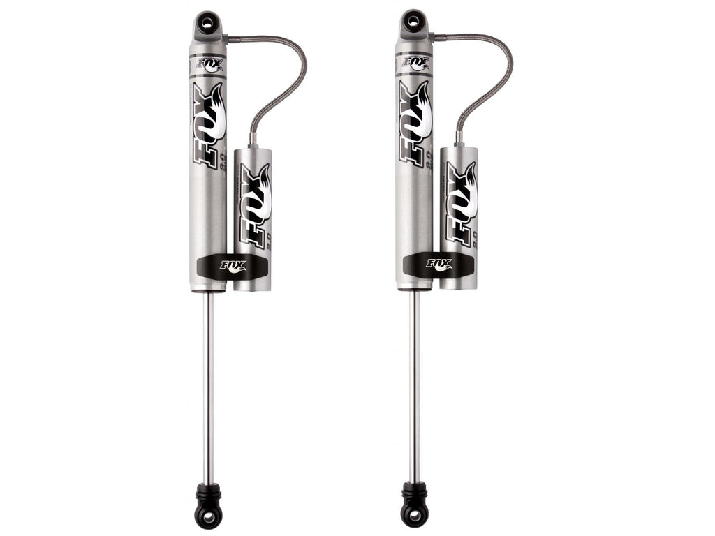"2017-2019 F250 & F350 FOX 2.0 Performance Series Remote Reservoir Rear Shocks - For 0-1"" Lifts"