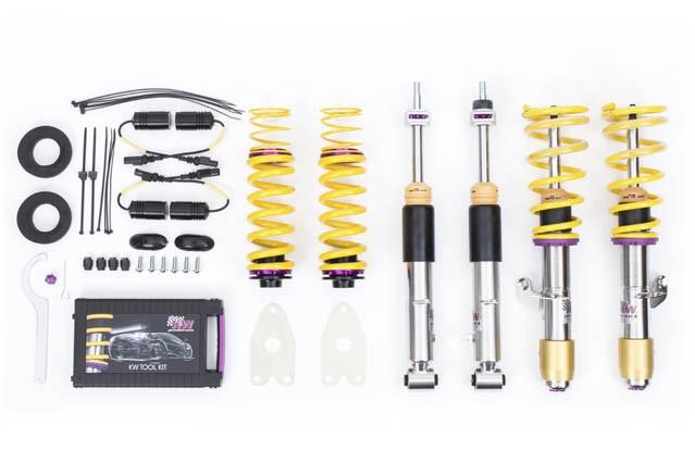 KW SUSPENSION VARIANT 3 COILOVERS KW V3 FOR BMW F80 M3, F82 M4 2015+
