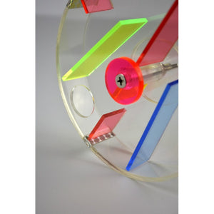 Acrylic Foraging Wheel for Parrots