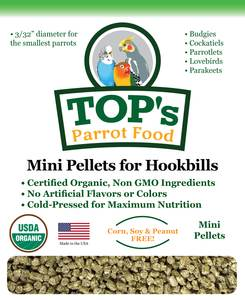 Top's Mini pellets 1 lbs bag