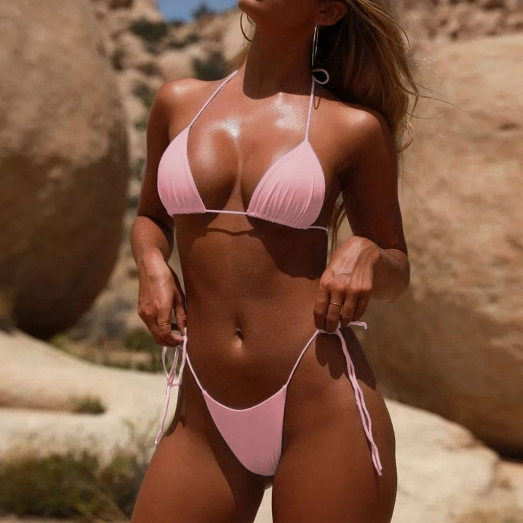 Wireless Bikini Swimsuit