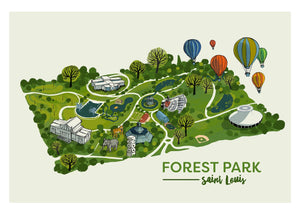 Holiday Park Print Set